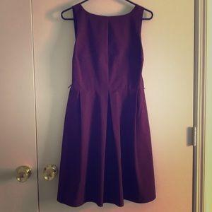 Purple midi formal dress!